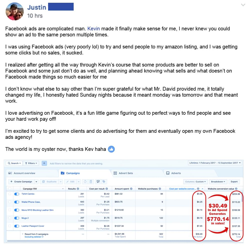 Facebook Ads Ninja Masterclass Review