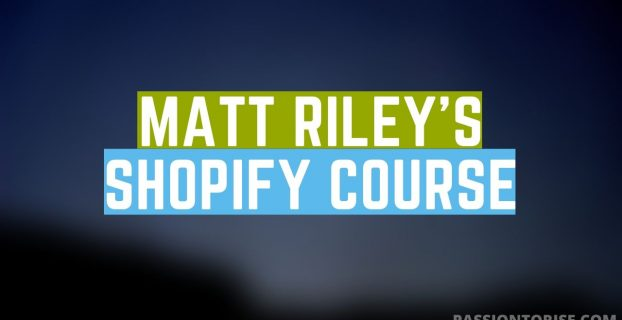 Matt Riley's Dropshipping course review