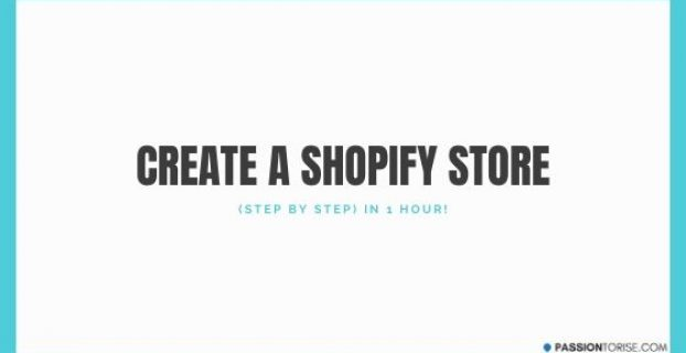 How To Create a Shopify Store in 1 hour
