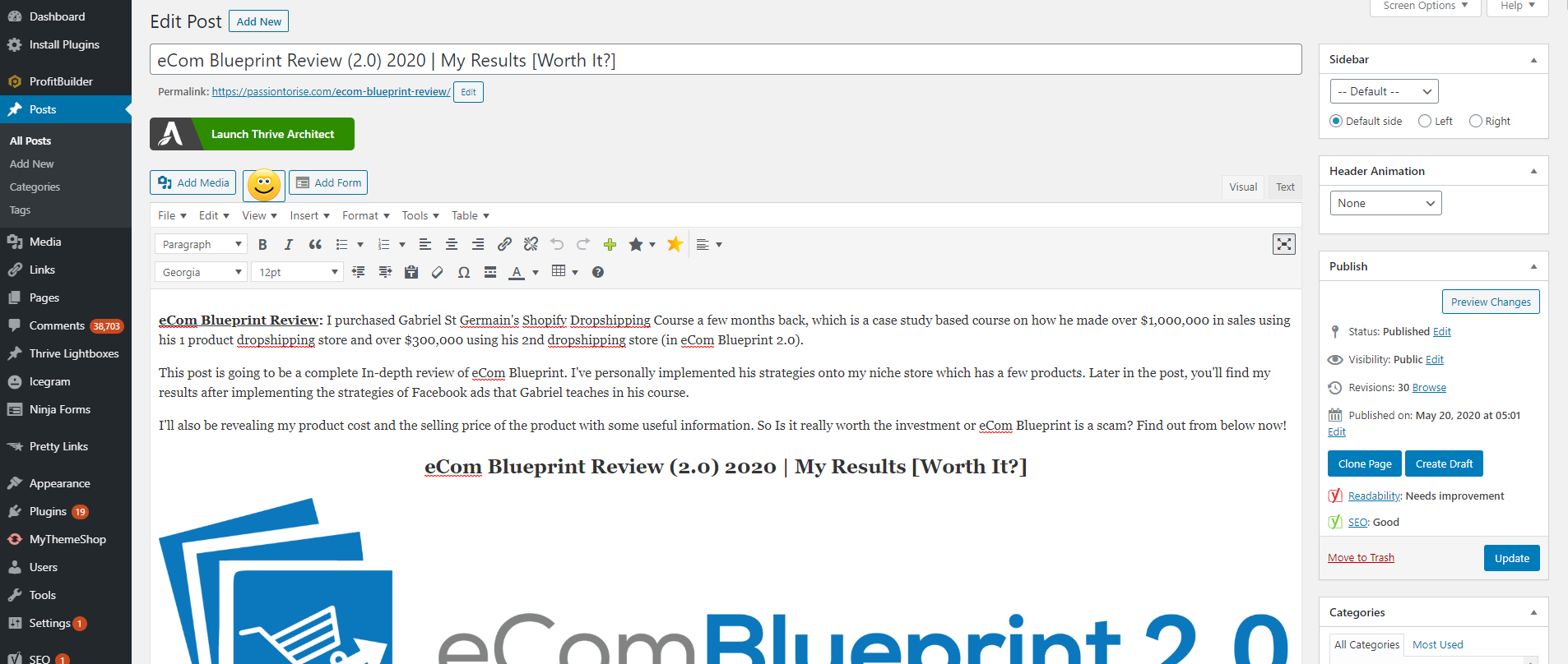 How To Create a WordPress Blog with Hostgator