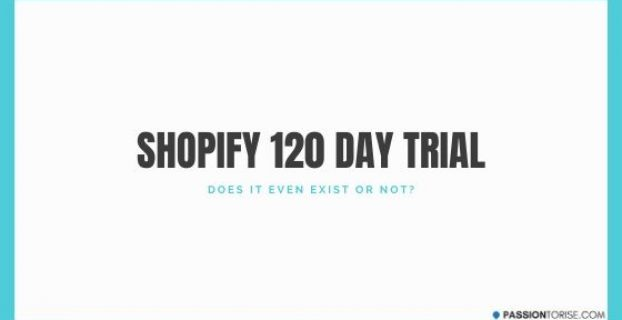 Shopify 120 Day Free Trial